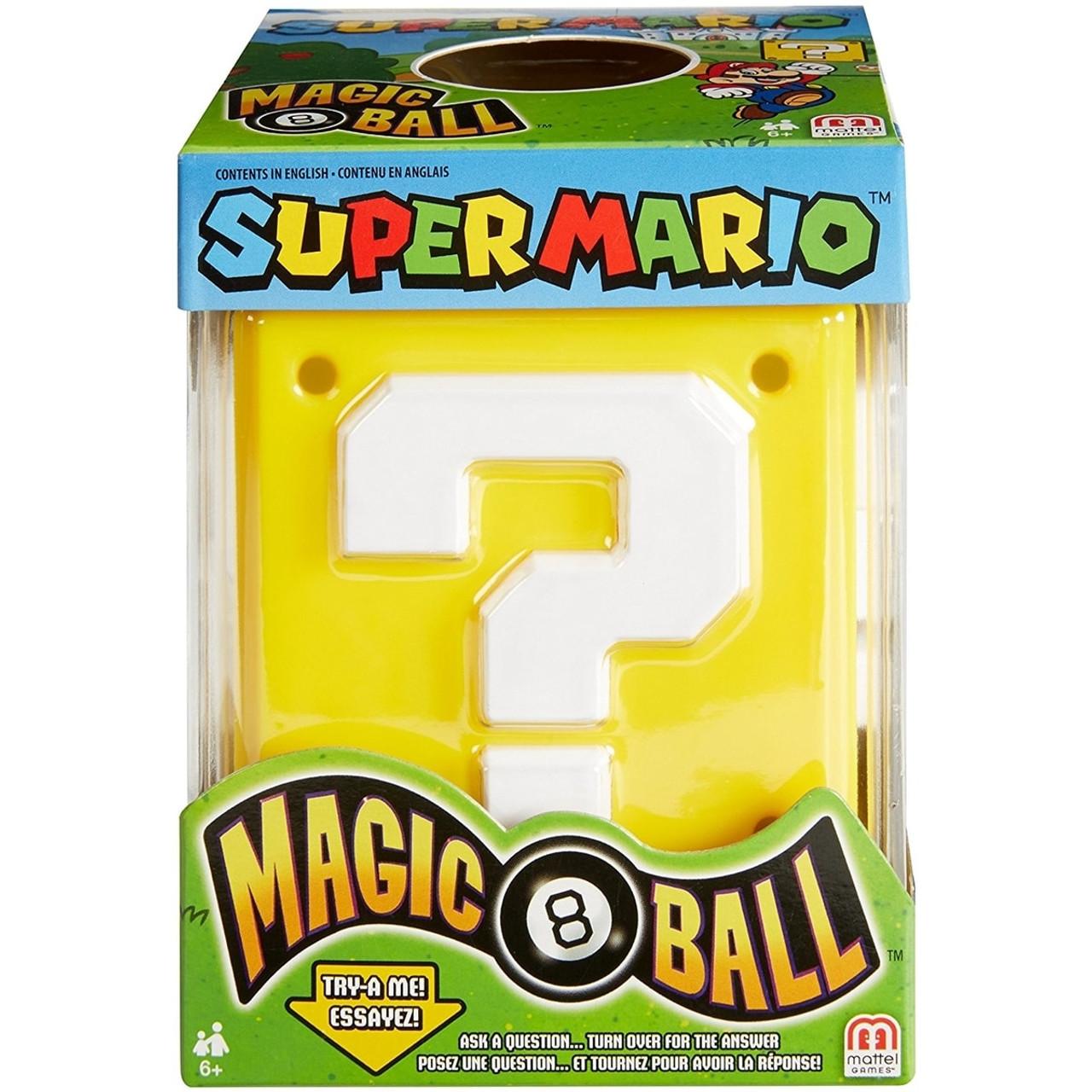 Magic 8-Ball: Super Mario Question Block
