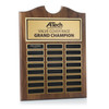 Black Roster Perpetual Plaques