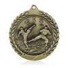 """Karate 1 3/4""""  Wreath Medal"""