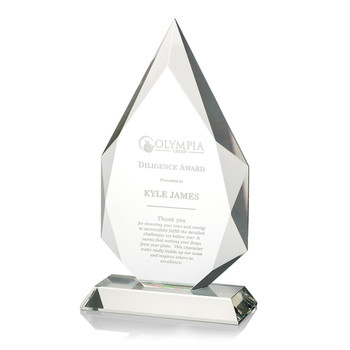 Accent Optical Crystal Award