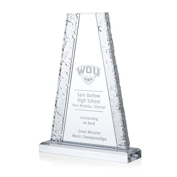 Glacier Tower Acrylic Award
