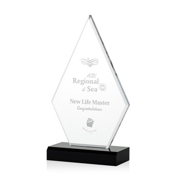 Value  Diamond Acrylic Award