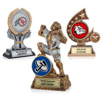 Customizable Sculpture Trophies