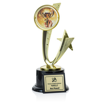 "Shooting Star Series 8 1/2"" Trophy"
