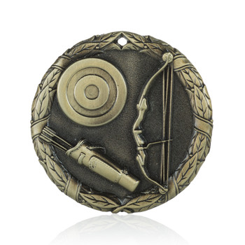 "Archery 2"" Activity Medal"