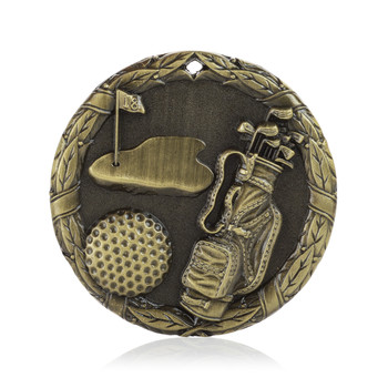 "Golf 2"" Activity Medal"