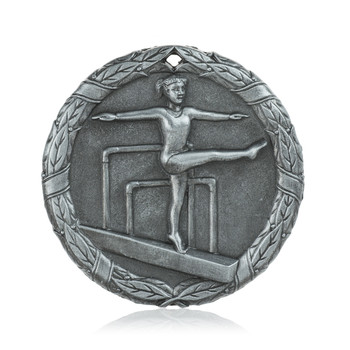 "Gymnastics Beam 2"" Activity Medal"