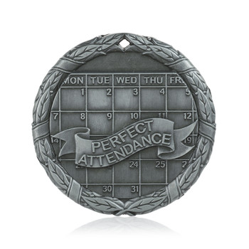 "Perfect Attendance 2"" Activity Medal"