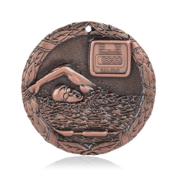 "Swimming 2"" Activity Medal"