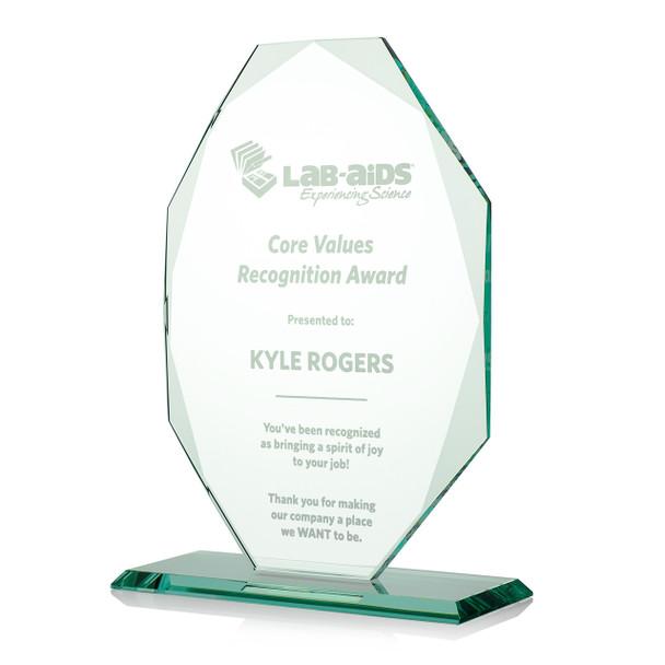 Oval Octagon Award