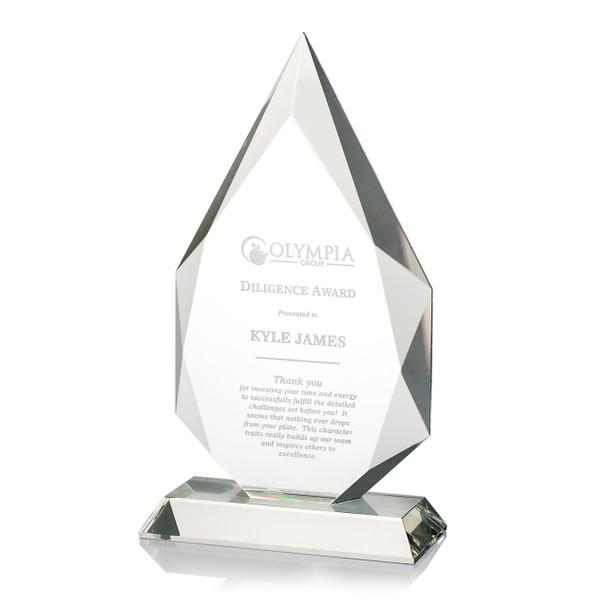 Accent Optical Crystal Award