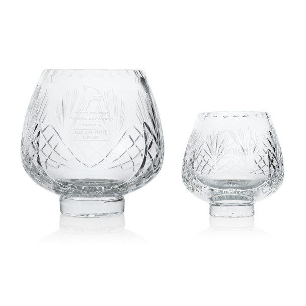 Esteem Crystal Award Bowls