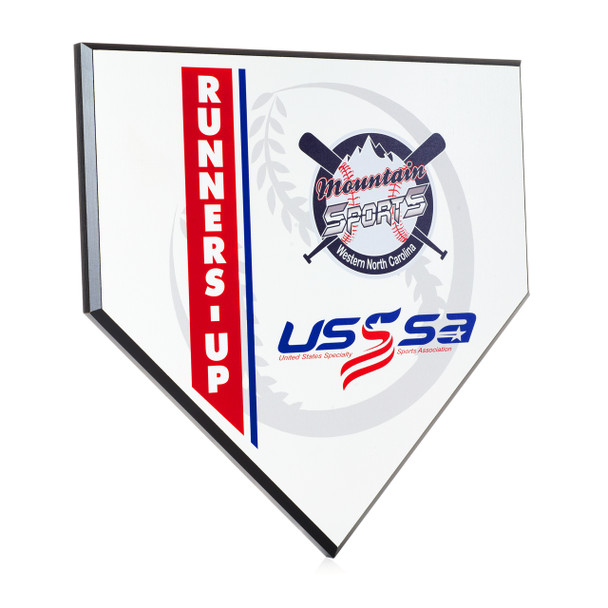 Ultra-Color Home Plate Plaques