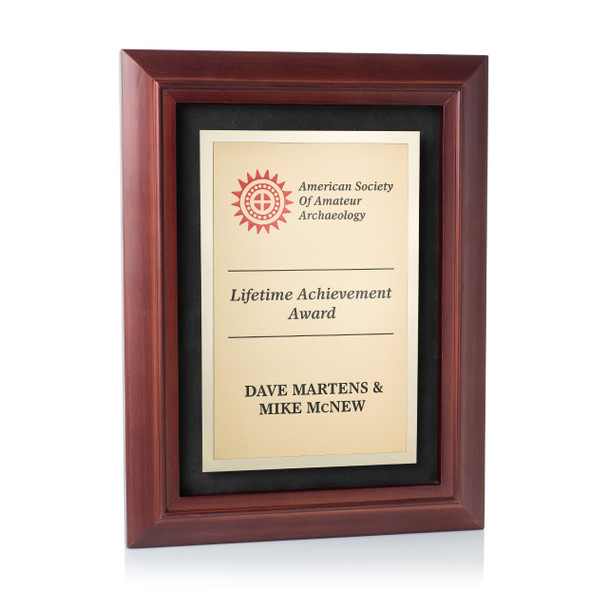 Recognition Award Plaque