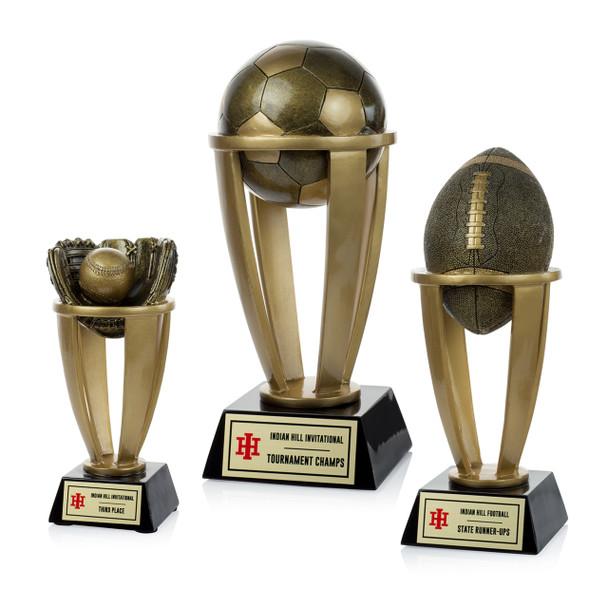 Sport Resin Tower Trophies
