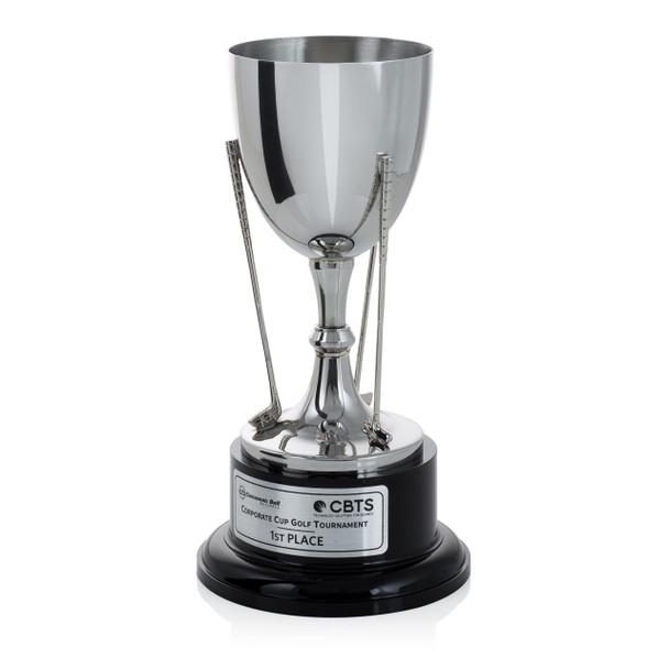 Silver Cup Golf Trophy