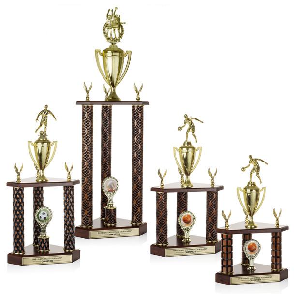 Grand Champion 3-Post Trophies
