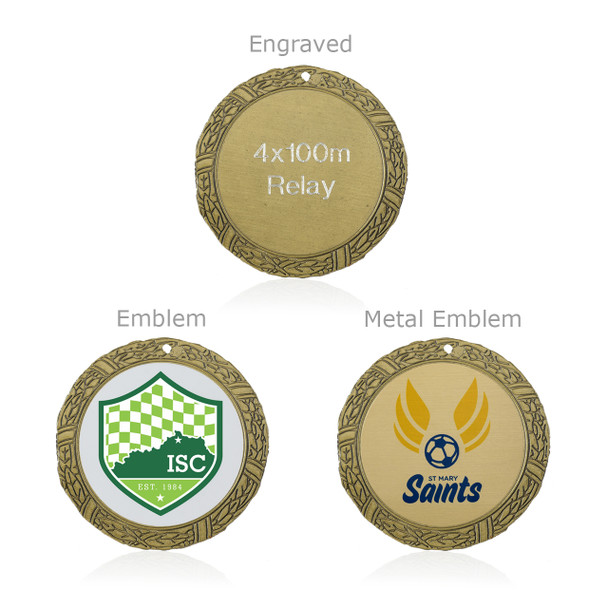 "Archery 2"" Activity Medal"