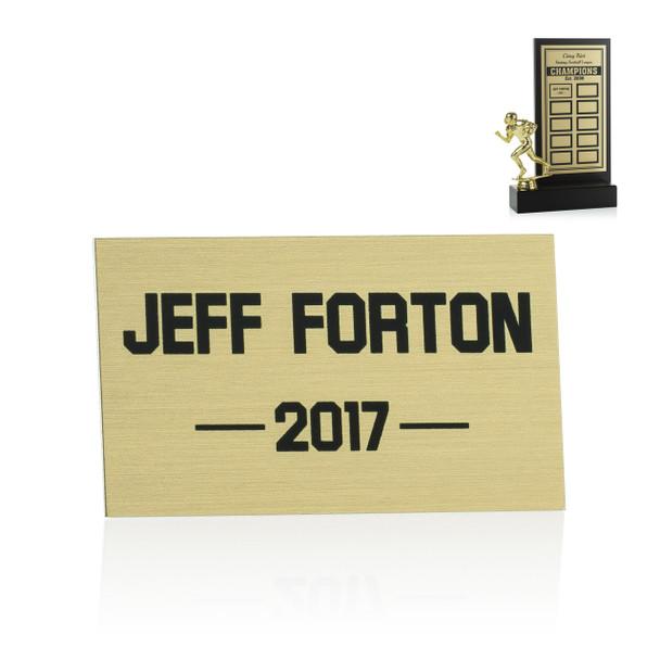Fantasy Boardwalk Trophy Perpetual Plate