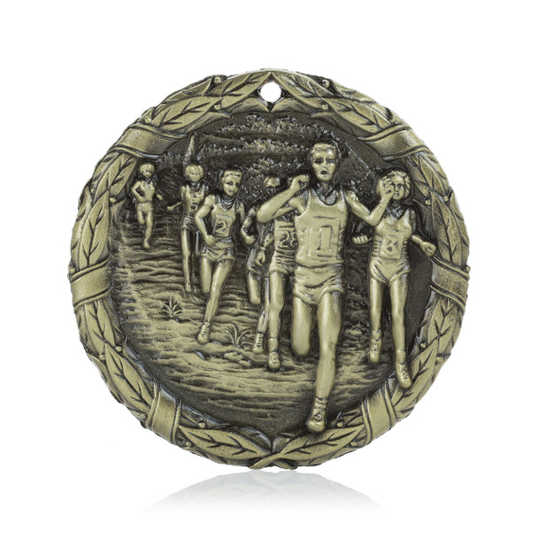 """Cross Country  2"""" Activity Medal"""