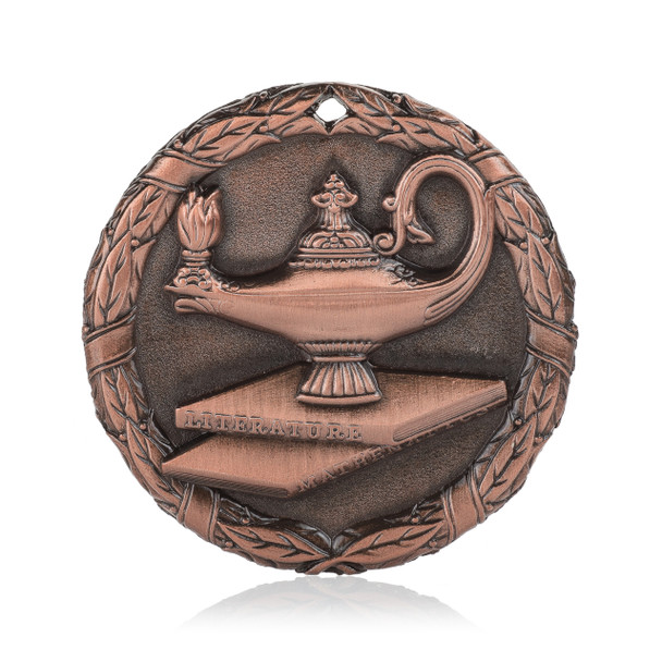 """Lamp of Knowledge 2"""" Activity Medal"""