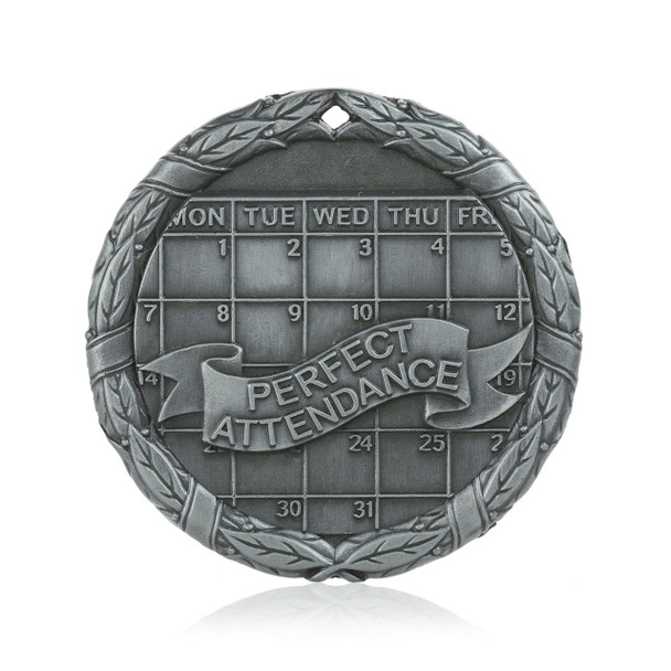 """Perfect Attendance 2"""" Activity Medal"""