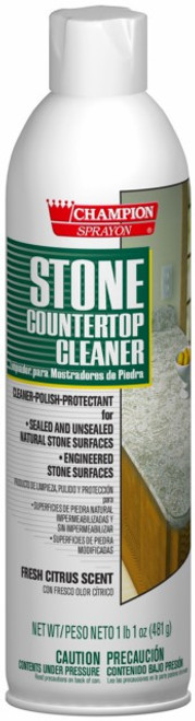 COUNTER TOP STONE CLEANER POLISH PROTECTANT 17 OZ X 12 PER CASE