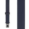Navy Blue Perry Suspenders - 1.5 Inch Wide Belt Clip