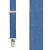 Dark Denim Suspenders - 1 Inch Wide
