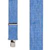 Denim-Look Suspenders