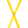 3/4 Inch Wide Thin Suspenders - BRIGHT GOLD (Satin)