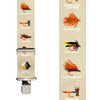Fly Fish on Tan Suspenders - Construction Clip