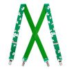 Shamrock Suspenders for Kids