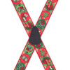 Christmas Suspenders w/Brass Clips