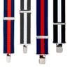 Striped Suspenders