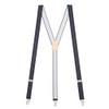 1 Inch Wide Striped Suspenders (Y-Back)