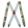 Real Tree X-TRA Brown Camo Suspenders - 2 Inch