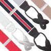 1.25 Inch Wide Button Suspenders