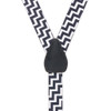 Zig Zag Suspenders for Kids - 36 Inch Only
