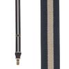 1 Inch Wide Striped Drop Clip Suspenders (Y-Back)
