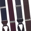 Canton Silk Tweed Suspenders