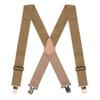 Heavy Duty Work Suspenders - TAN