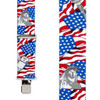 USA Liberty Suspenders - 2 Inch Wide