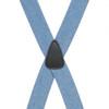 DENIM 1.5 Inch Wide Pin Clip Suspenders