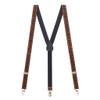 Y-Back Animal Print Suspenders - 1 Inch Wide
