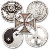 Conchos for Sonny Boy Leather Suspenders