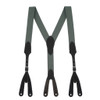 Rugged Comfort Suspenders - Button CACTUS GREEN