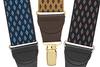 Jacquard Suspenders