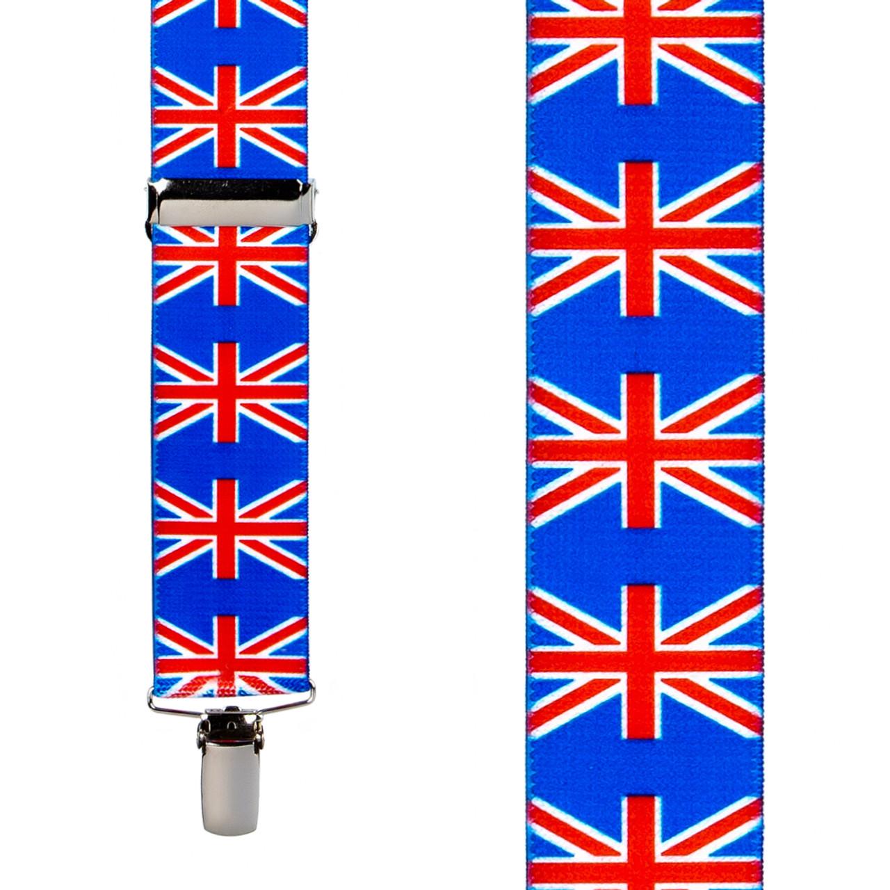 UNITED KINGDOM Flag Suspenders