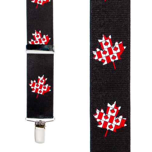 Flag Suspenders - CANADA